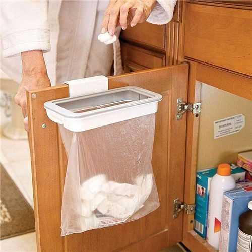 Attach A Trash حامل اكياس القمامة بغطاء 1