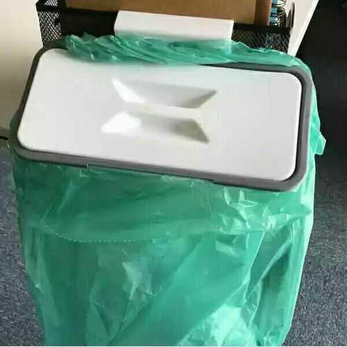 Attach A Trash حامل اكياس القمامة بغطاء 2