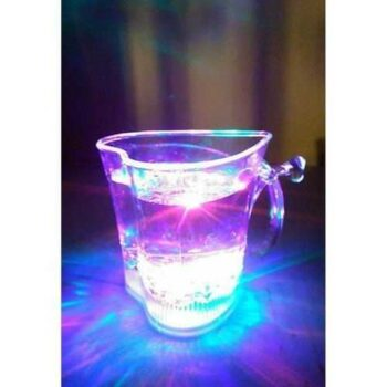 Transparent Spectrum Light Up Mug With 7 Led Colors