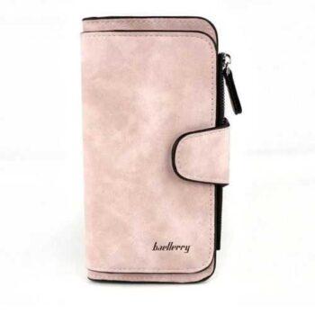 محفظة جلد شمواه ( سيمون ) - للأموال & الكروت