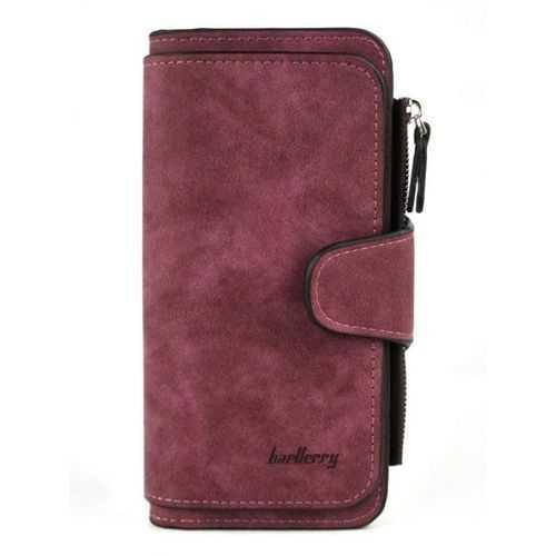 Generic محفظة جلد شمواه ( نبيتي ) - للأموال &Amp; الكروت