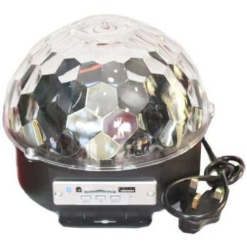 Generic Mp3 Led Crystal Magic Ball Stage Light