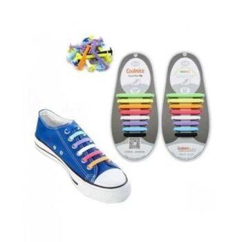 Silicone Strap Shoe - Multicolor - 16 Pcs