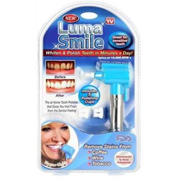 Luma Smile The Tooth Polisher At Home