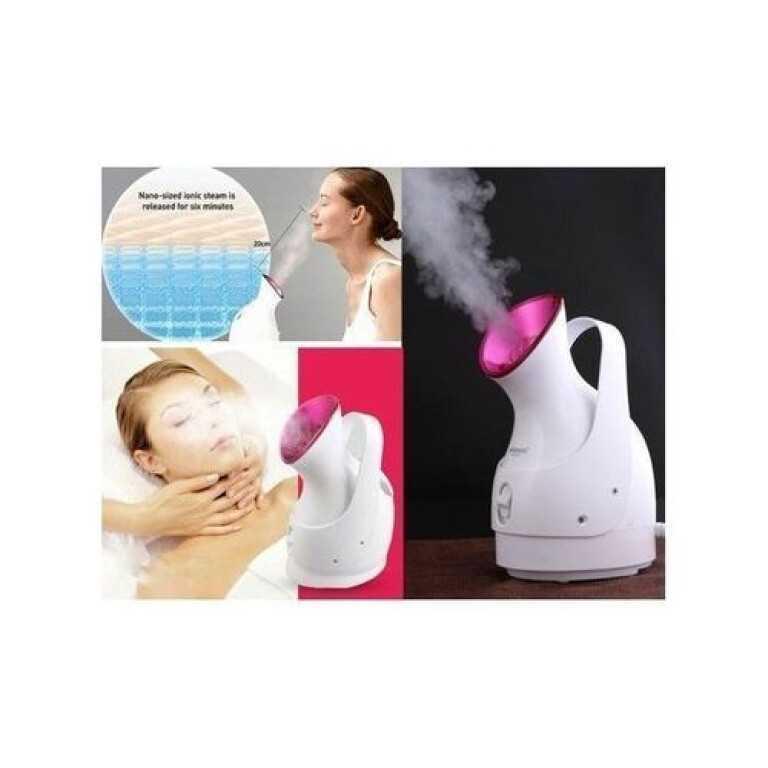 جهاز ساونا و بخار الوجه لتنظيف الوجه بالبخار من Sokany 280 وات - أبيض 1