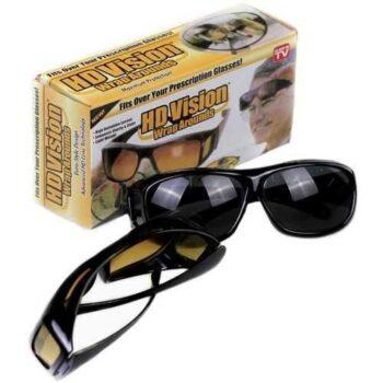 اثنين من أزواج من النظارات مجموعة نظارات للرؤية الليلية