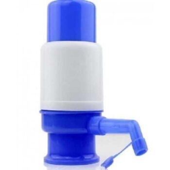 موزع مياه يدوى - أزرق