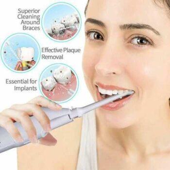As Seen On Tv جهاز تنظيف الأسنان بضغط المياه باور فلوس