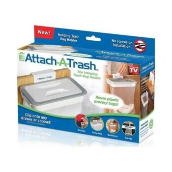 As Seen On Tv Attach-A-Trash The Hanging Trash Bag Holder