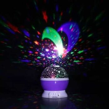 As Seen On Tv Star Master Rotating Projector Lamp