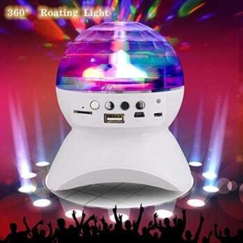 Ball Crystal Lights Disco & Speaker Bluetooth Wireless - Rechargeable