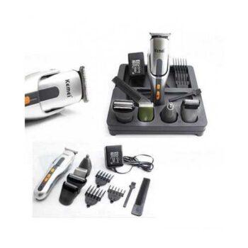 Kemei ماكينة حلاقة 8 في 1 حلاقة الشعر وقص وتنعيم اللحية وللانف وللجسم KM - 680A