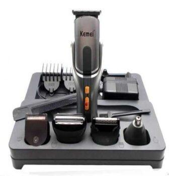 Kemei KM-680A 8 In 1 Rechargeable Men's Grooming Kit