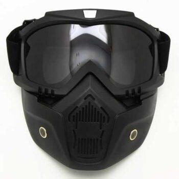 Mask Race Gear - Black