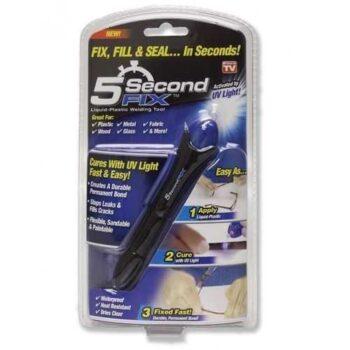 Quick Fix 5 Second UV Light Plastic Welding Compound Glue Pen