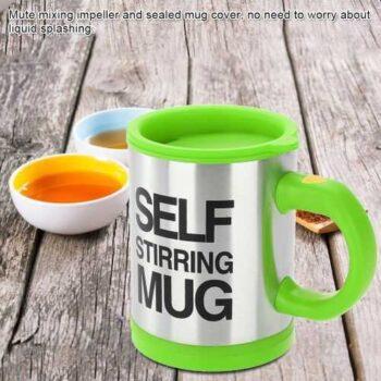 Stainless Steel Electric Self Stirring Mug
