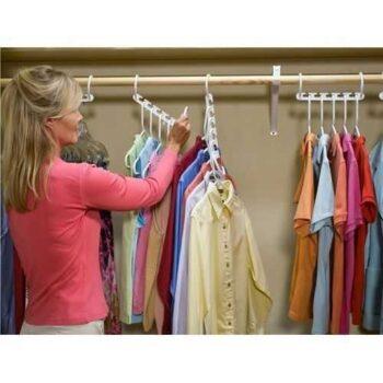 Triples Closet Hanger - 1 Set - 8 Pcs
