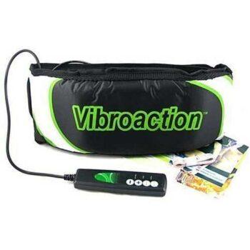 Vibroaction Slimming Massage Belt - Black