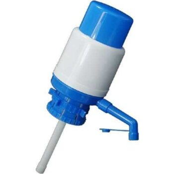Water Hand Press Pump - Blue
