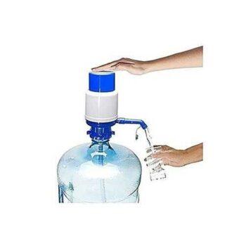 Water Hand Press Pump - Blue/White